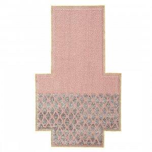 Rhombus Mangas Space Vloerkleed Pink