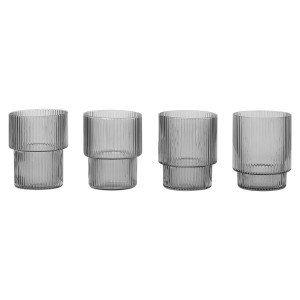 Ripple Glas, set van 4