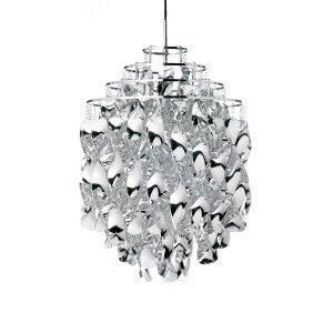Spiral Silver Hanglamp