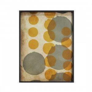 Sienna Layered Dots Dienblad