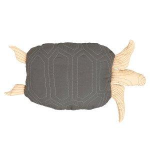 Turtle Quitled Kussen