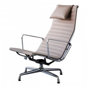 Aluminium Chair EA 124 Loungestoel