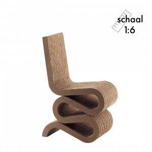 Wiggle Side Chair Miniatuur