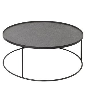 Ethnicraft Round Tray Table Salontafel