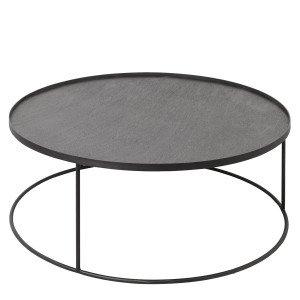 Ethnicraft Round Tray Table Salontafel