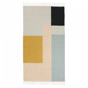 Ferm Living Kelim Squares Vloerkleed Small
