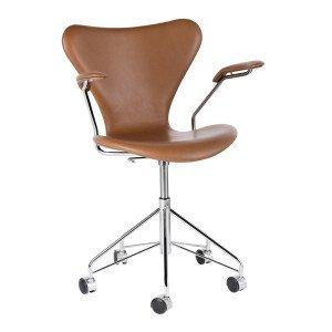 Fritz Hansen Series 7 Bureaustoel Met Armleuning