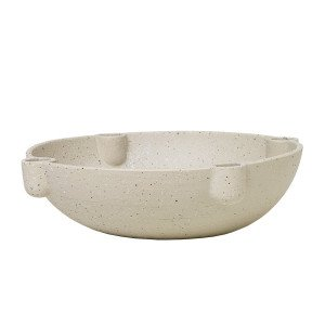 Ferm Living Bowl Kaarsenhouder Keramiek