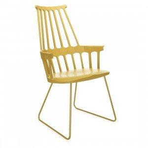 Kartell Comback Chair Stoel, Sledebasis