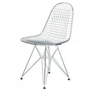Vitra Wire Chair DKR Stoel Chroom