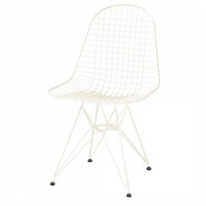Vitra Wire Chair DKR Stoel Creme