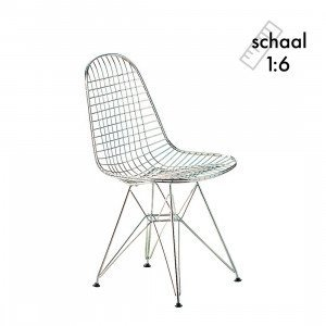 Vitra DKR Wire Chair Miniatuur