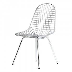 Vitra Wire Chair DKX Stoel Chroom