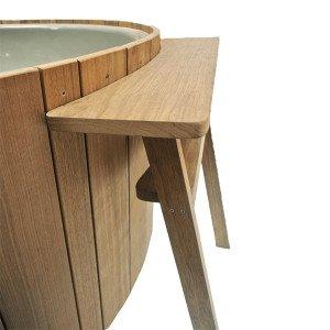 Dutchtub Wood Bijzettafel