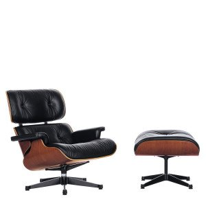 Vitra Eames Lounge Chair + Ottoman