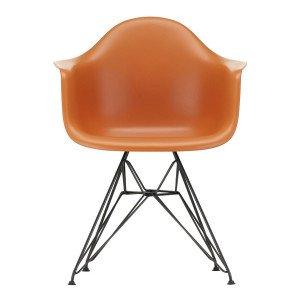 Vitra Eames Plastic Chair DAR Zwart Onderstel