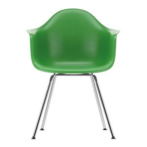 Vitra Eames Plastic Chair DAX Chroom Onderstel