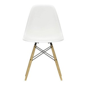 Vitra Eames Plastic Chair DSW Stoel Esdoorn Gelig