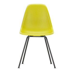 Vitra Eames Plastic Chair DSX Zwart Onderstel