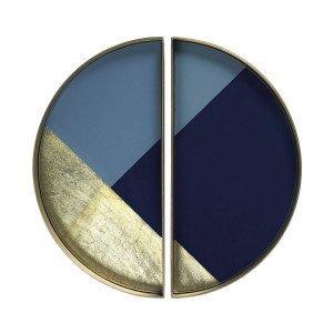 Ethnicraft Half-Moon Geometric Dienblad