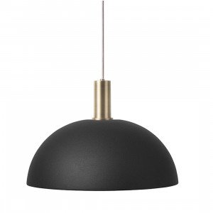 Ferm Living Collect Dome Zwart Low Hanglamp