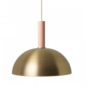 Ferm Living Collect Dome Messing High Hanglamp