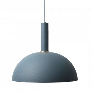 Ferm Living Collect Dome Donkerblauw High Hanglamp