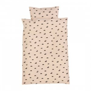 Ferm Living Rabbit Bedding Dekbedovertrek Junior (op=op)