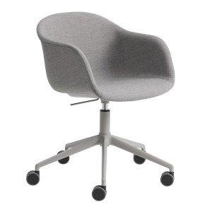Muuto Fiber Armchair Bureaustoel, Verstelbaar