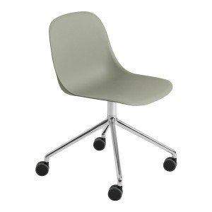 Muuto Fiber Side Chair Bureaustoel, Niet Verstelbaar