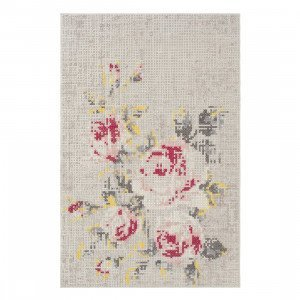 Gan Rugs Flowers Natural Canevas Vloerkleed 200 x 300