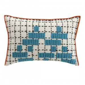 Gan Rugs Cushion Bandas Kussen, C Turquoise