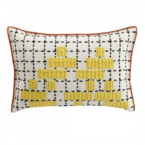 Gan Rugs Cushion Bandas Kussen, C Yellow