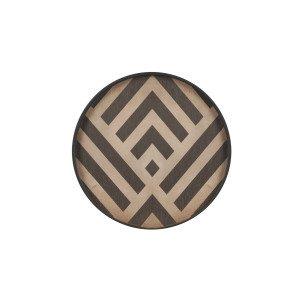Ethnicraft Graphite Chevron Dienblad
