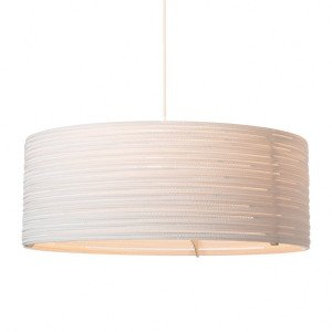 Graypants Drum Hanglamp Wit