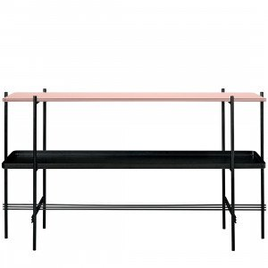 Gubi TS Console Tafel Top Glass, met tray
