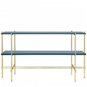 Gubi TS Console Tafel Glass, 2 tops