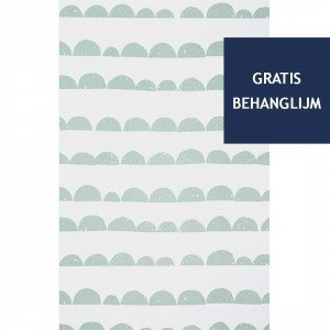 Ferm Living Half Moon Behang Mint