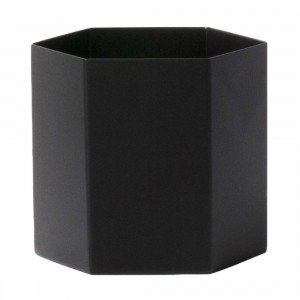 Ferm Living Hexagon Pot Large Zwart