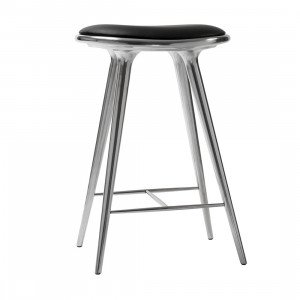 Mater High Stool Recycled Aluminium Kruk, 69 cm