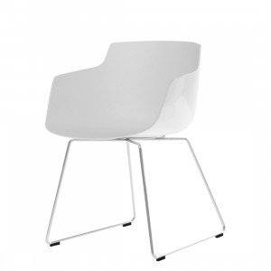 MDF Italia Flow Slim Chair Slede Onderstel