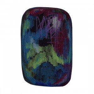 Moooi Carpets Scribble Vloerkleed Zwart/Groen/Blauw