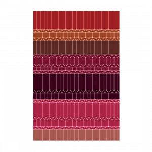 Moooi Carpets Zig Zag Vloerkleed Rood