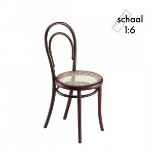 Vitra Stuhl No. 14 Miniatuur