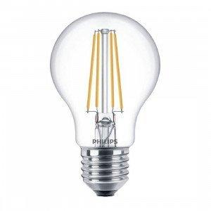 Philips LED E27 Filament Lichtbron 8W Dimbaar