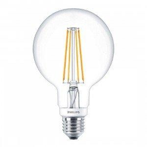 Philips LED E27 Filament Globe lichtbron 7.2W