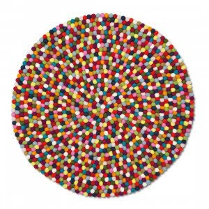 HAY Pinocchio Karpet Multi Colour Bolletjeskleed