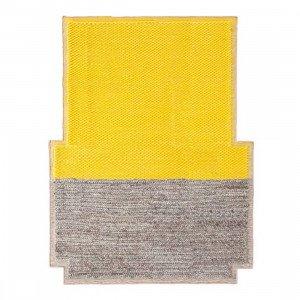Gan Rugs Plait Mangas Space Vloerkleed Yellow M