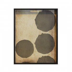 Ethnicraft Silver Dots Dienblad