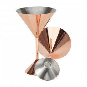 Tom Dixon Plum Martini Glazen, set van 2